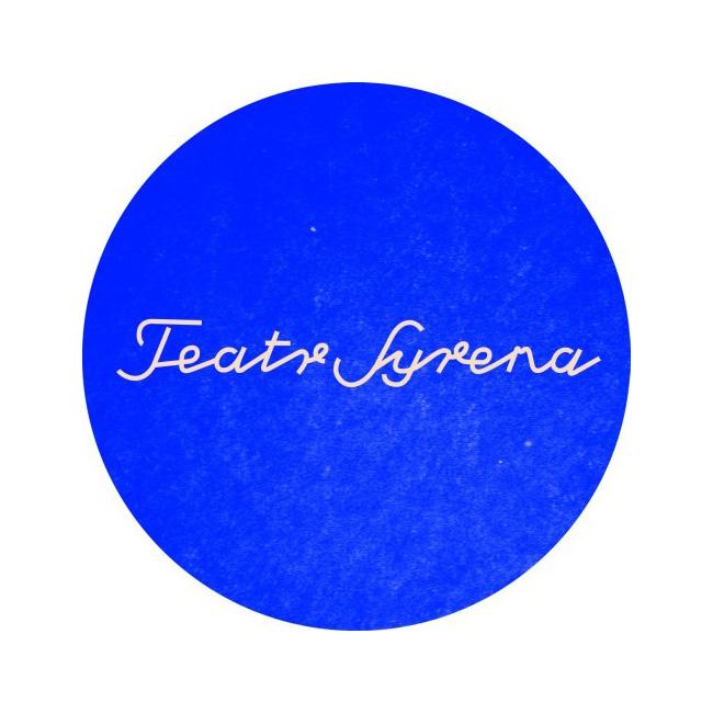 grafika logotyp teatr syrena