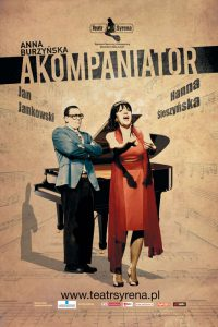 Plakat Przedstawienia Teatralnego Akompaniator
