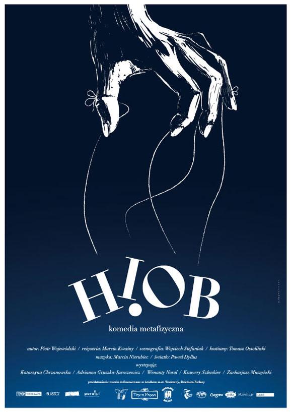 Plakat teatralny Hiob