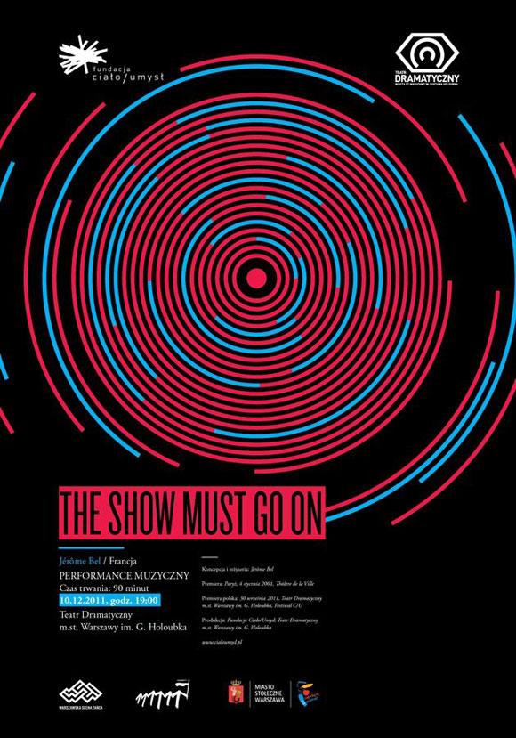 Plakat Performance Muzyczny TSMGO
