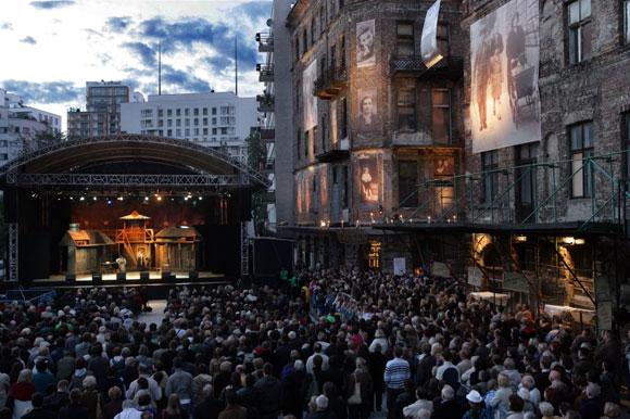 Final Concert. Fiddler on the roof [2010] fot.Jacek Barcz