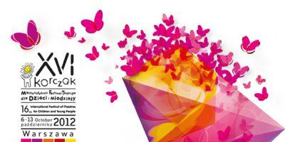 Grafika plakat festiwalu teatralnego