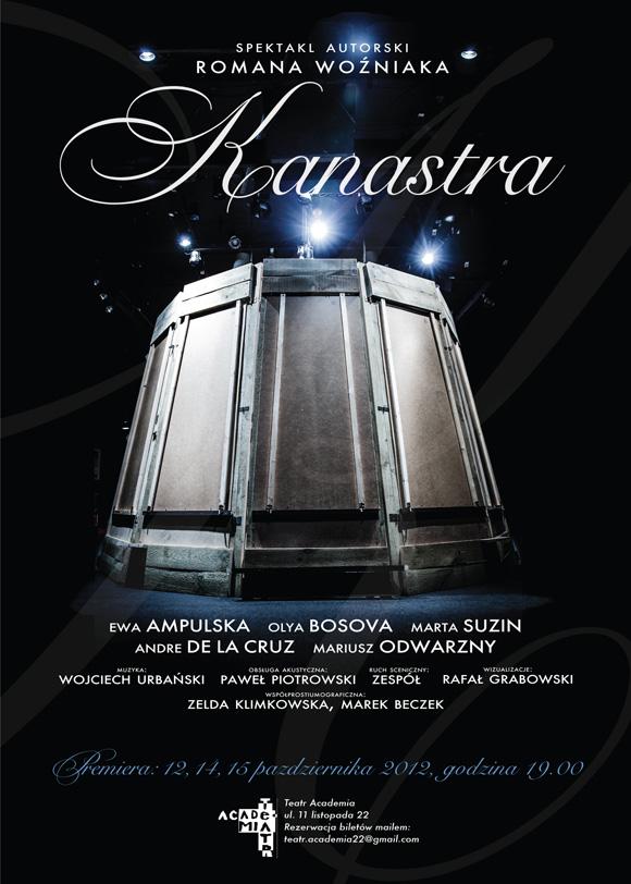 plakat teatralny Kanastra