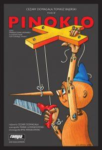 plakat teatralny grafika promująca spektakl