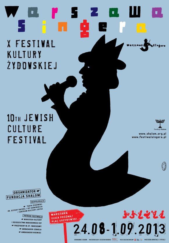 plakat festiwalu teatralnego