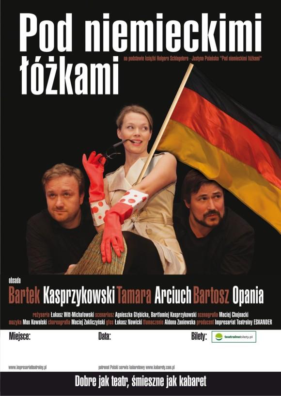 plakat teatralny projekt teatr warszawa