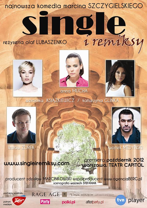 Single i Remiksy Marcina Szczygielskiego - plakat