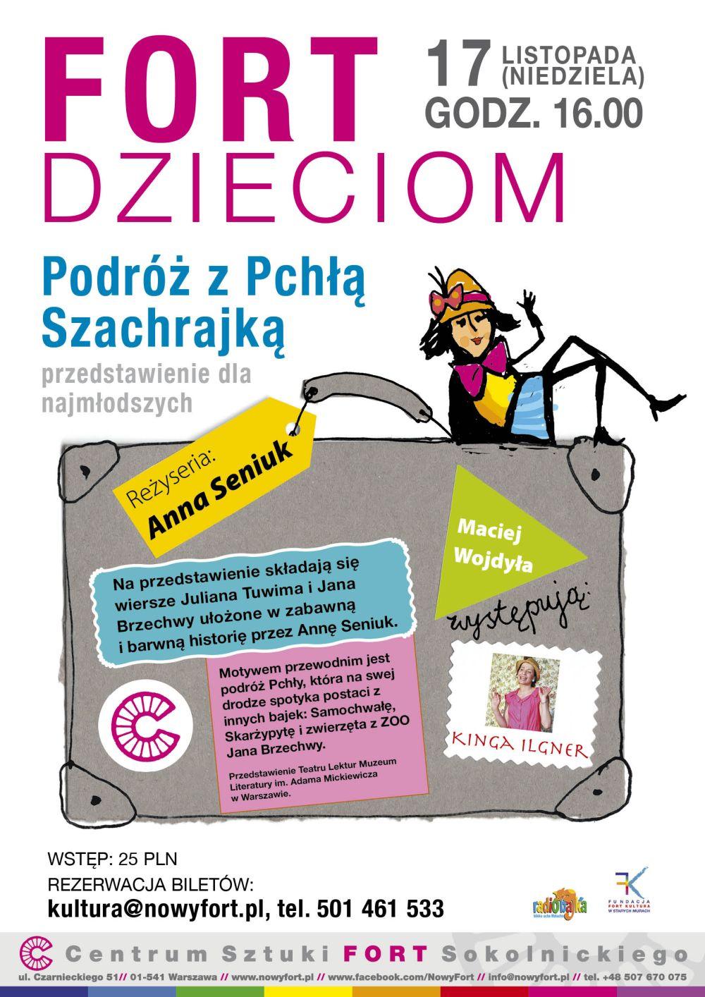 plakat teatralny dla dzieci