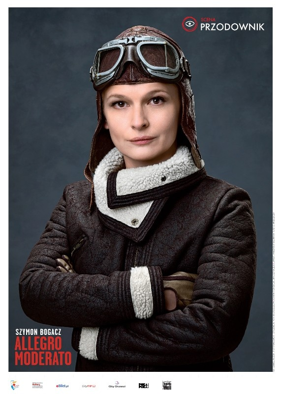 plakat teatralny dominika ostałowska