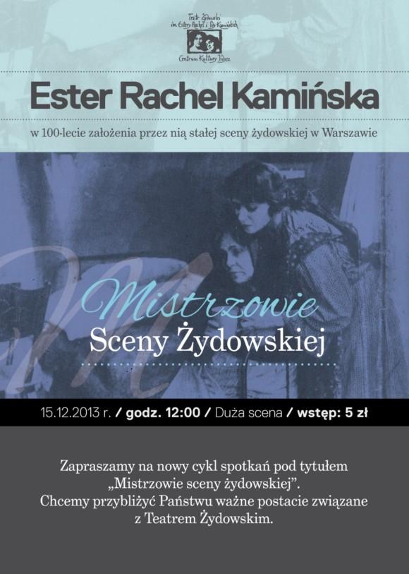 plakat promocyjny teatr
