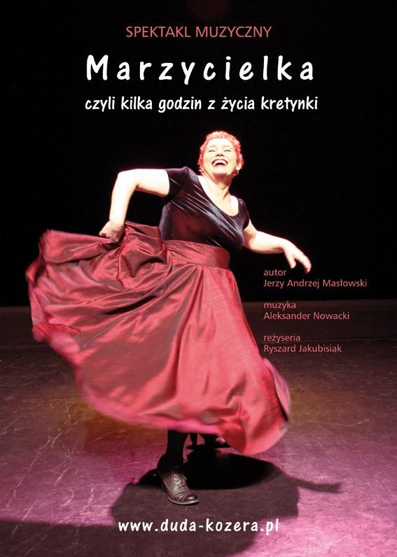 Marzycielka Teatr Rampa Plakat