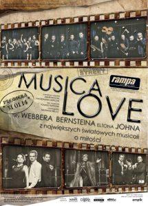 MusicaLove w Teatrze Rampa plakat