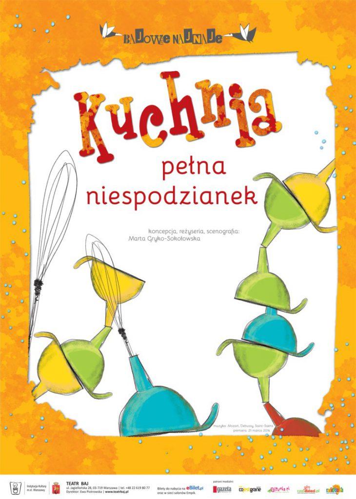 plakat spektaklu dla dzieci