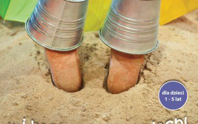 plakat spektaklu i bach prosto w piach