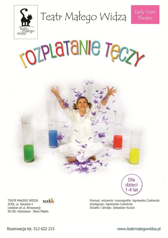 plakat teatralny spektakl dla dzieci