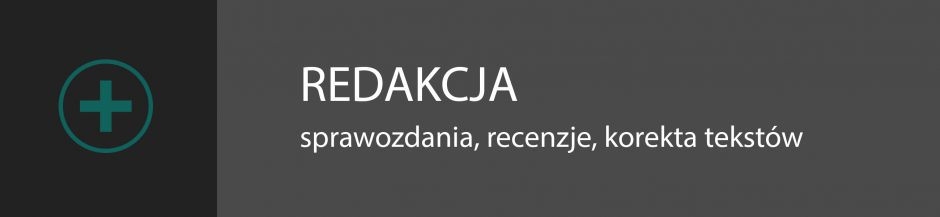 redakcja i korekta tekstów w Warszawie