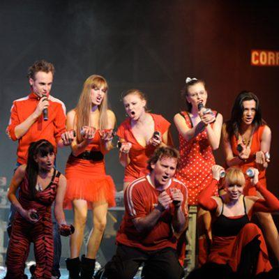 artyści tancerze fotografia musical metro