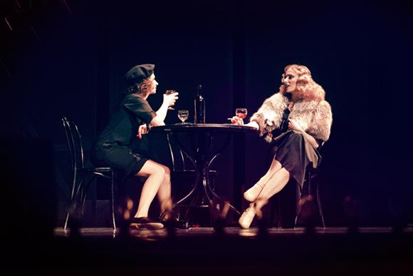 Édith i Marlene fotografia kobiety