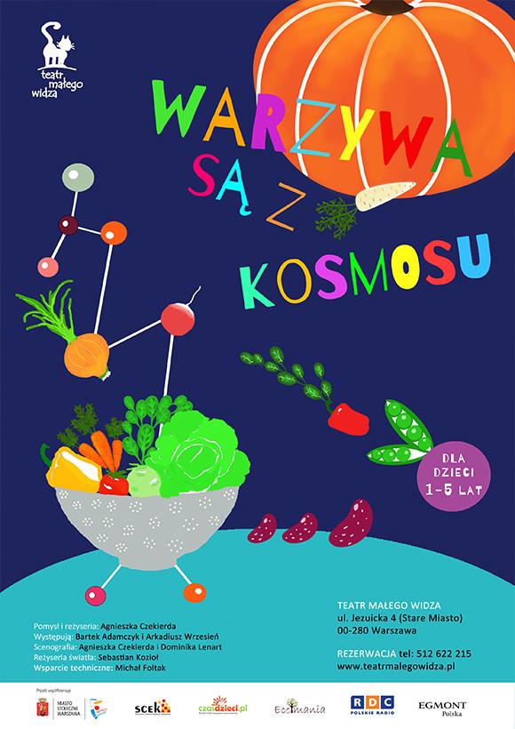 warzywa są z kosmosu dla dzieci