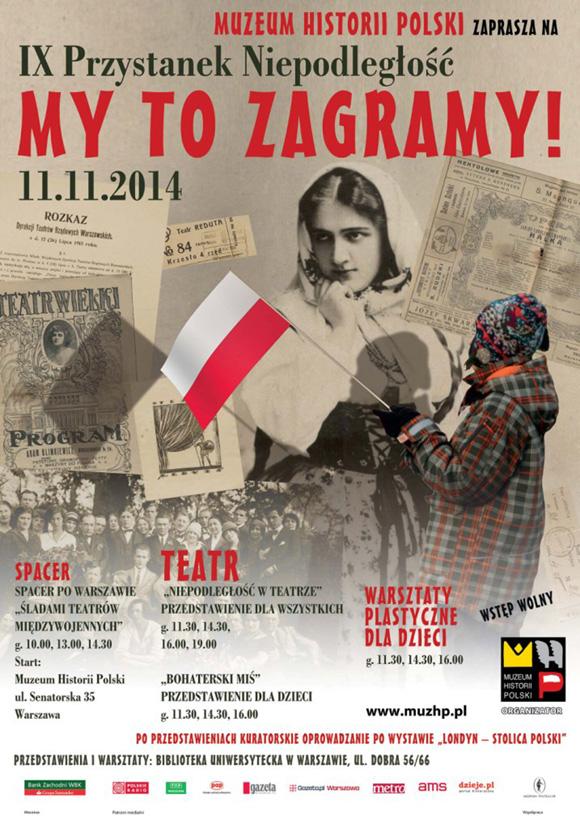 muzeum historii polski plakat