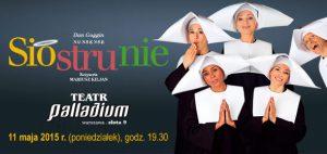 plakat teatralny palladium siostrunie