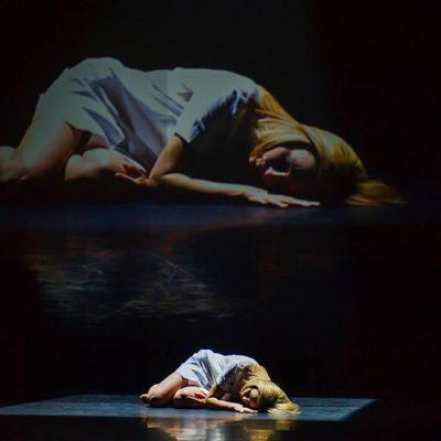 Projekcje video. Pasja w Teatrze Wielkim Opera Narodowa