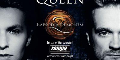 Rapsodia z Demonem przeboje grupy Queen Teatr Rampa