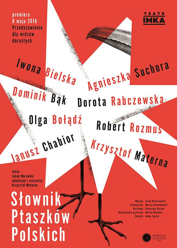 Słownik-Ptaszków-Polskich_Teatr_IMKA_plakat