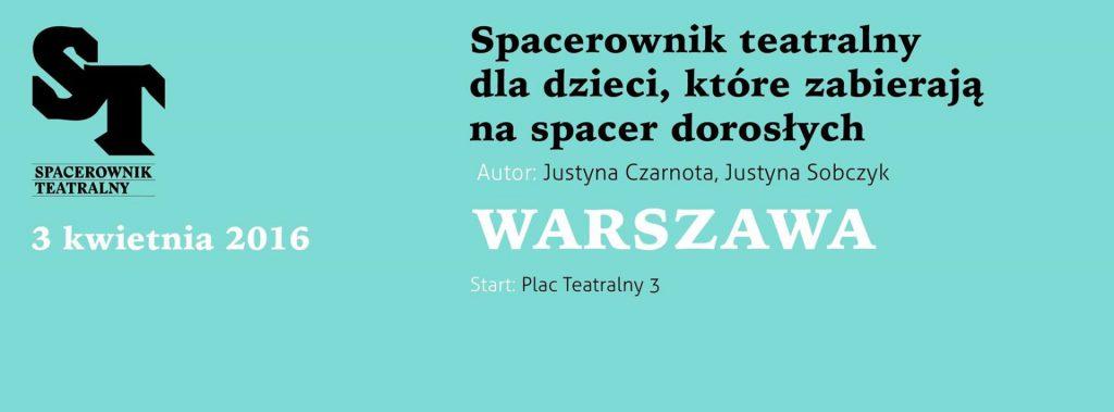 Spacerownik dla dzieci Warszawa
