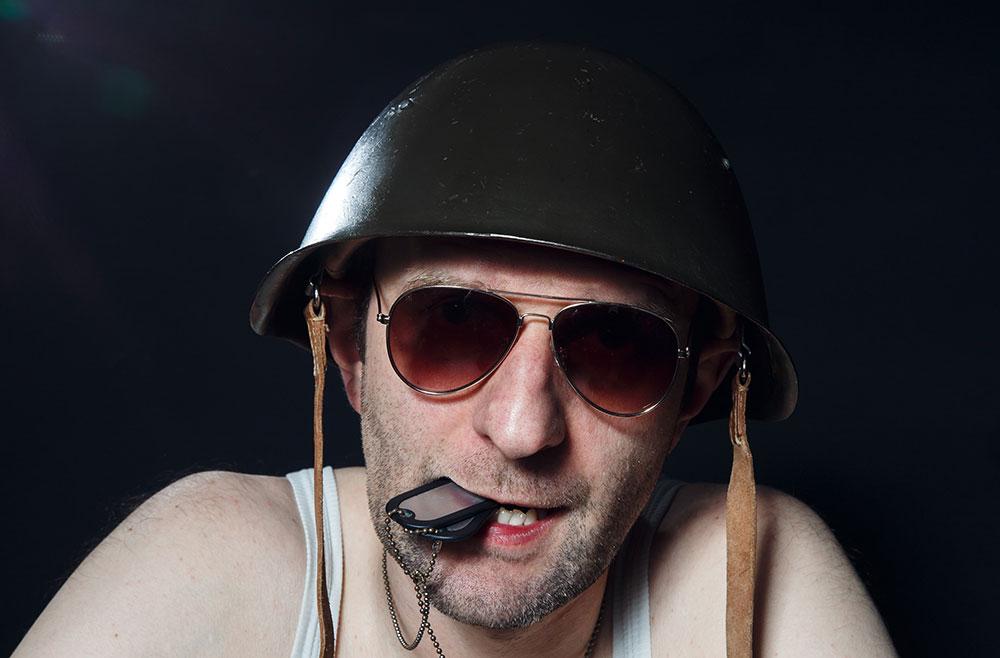 ŻOŁNIERZ POLSKI Patriotyczny one-man show Rafała Rutkowskiego
