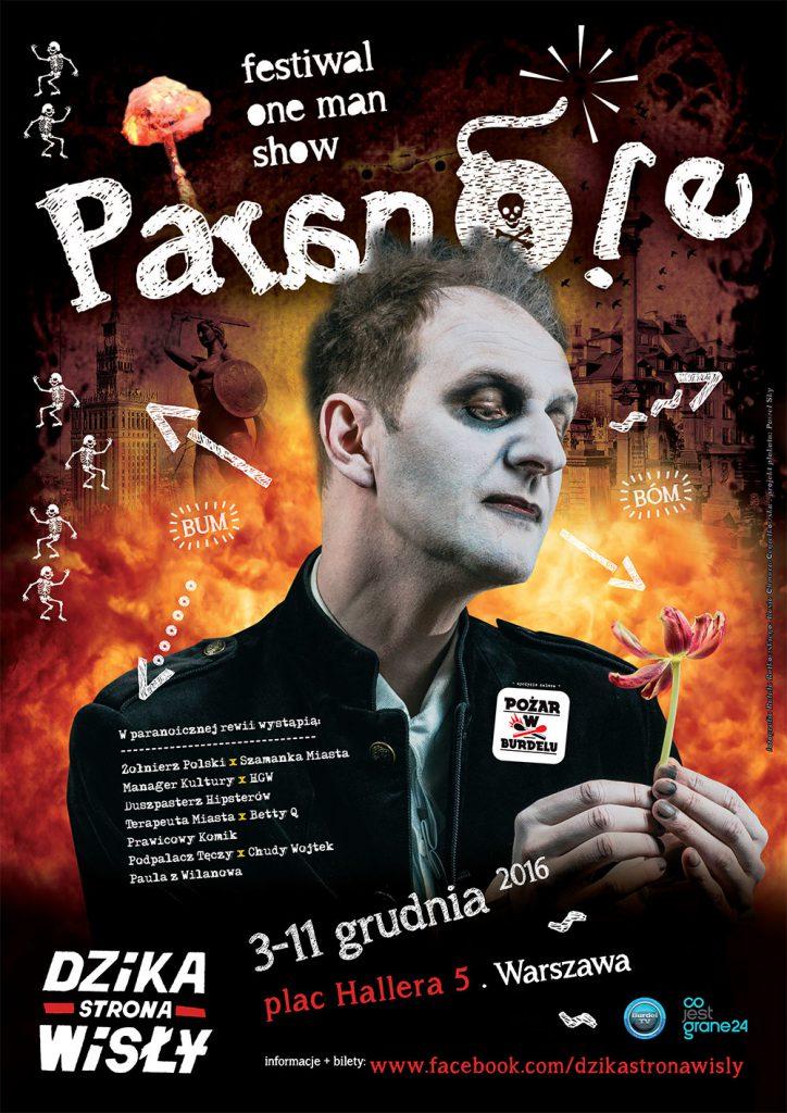 plakat_paranoje_one_man_show_festiwal